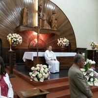 Photo taken at Igreja de São João by Marcos Faustino Reis (. on 8/25/2012