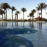 Photo taken at Mövenpick Resort & Marine Spa Sousse by Alena T. on 6/14/2012