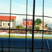 Photo taken at Stadion Krida Rembang by Rifada W. on 4/29/2012