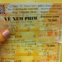 Photo taken at Rạp Cinê Tháng Tám (August Cinema) by Phuong k. on 9/3/2012