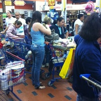 Photo taken at Supermercado Paulista by Andrea M. on 7/6/2012