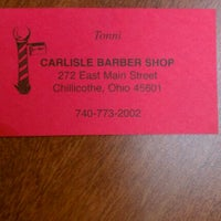Photo taken at Carlisle Barber Shop by Sunny C. on 6/16/2012