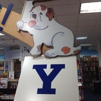 Photo taken at Yale University Bookstore by Martin E. on 4/21/2012