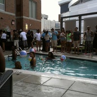 Photo taken at Hyatt House Charlotte/Center City by Prahlad F. on 7/22/2012