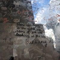 Photo taken at Tombe d'Oscar Wilde by Sean M. on 7/15/2012