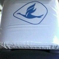 Photo taken at Taxi Blue Bird by Firstdio Putra B. on 8/20/2012