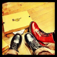 Photo taken at Dr. Martens by Sheryl Mae on 2/11/2012