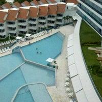 Photo taken at Centro Convenciones Hotel Las Américas by Jorge V. on 8/31/2012