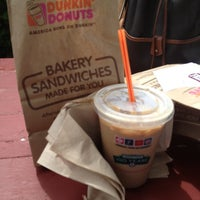 Photo taken at Dunkin' Donuts by Leah M. on 7/31/2012