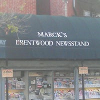 Photo taken at Marck's Brentwood NewsStand by Hello Couture on 3/28/2012