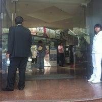 Photo taken at Bancomer by Higinio G. on 8/3/2012