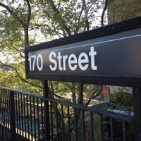 Photo taken at MTA Subway - 170th St (4) by Phillip B. on 4/17/2012