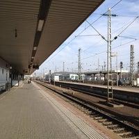 Photo taken at Basel Baden Railway Station by Kurius G. on 3/17/2012