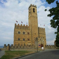 Photo taken at Castello di Poppi by Jose G. on 7/6/2012