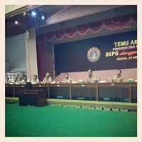 Photo taken at GOR Tridharma by Nugroho C. on 5/24/2012