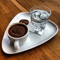 Photo taken at Beyaz Fırın & Brasserie by Goktug G. on 2/19/2012