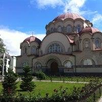 Photo taken at Воскресенский Новодевичий женский монастырь by KseniaZ. on 6/28/2012