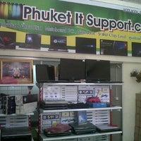 Photo taken at บริษัท ภูเก็ต ไอที ซัพพอร์ท จำกัด by Wunsai P. on 7/13/2012