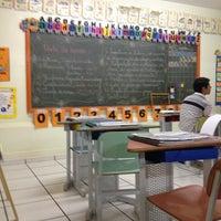 Photo taken at Colegio Objetivo by Ivalmir Silvio C. on 8/9/2012