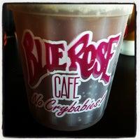 Photo taken at Blue Rose Cafe by Madison K. on 7/24/2012