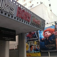 Photo taken at Cine Roxy by Joao Pedro S. on 7/26/2012