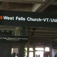 Photo taken at West Falls Church-VT/UVA Metro Station by Shakita R. on 5/20/2012