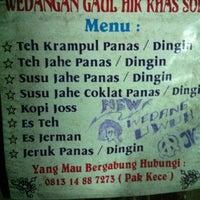 Photo taken at angkringan Pak Kece' by Hary K. on 2/29/2012