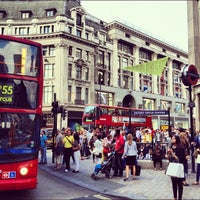 Photo taken at Oxford Circus by Abdullah A. on 8/22/2012