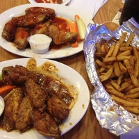 Photo taken at BWB - Buffalo Wings & Beer by Shaggy N. on 2/26/2012