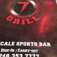 Photo taken at Bar 7 & Grill by James S. on 3/28/2013
