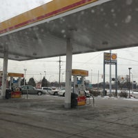 Photo taken at Shell by James S. on 1/27/2013