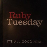 Photo taken at Ruby Tuesday by Landon S. on 11/12/2012