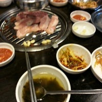 Photo taken at 새마을식당 by christopher c. on 5/22/2013