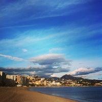 Foto tomada en Playa de La Farola por Rodrigo B. el 1/21/2014
