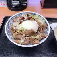Photo taken at Yoshinoya by うめ ち. on 1/26/2018