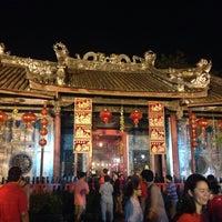 Photo taken at ศาลเจ้าแม่กวนอิมเกียนอันเกง (Kian Un Keng Shrine) 恩很好 by Rireen A. on 1/30/2014