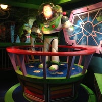 Photo taken at Buzz Lightyear Astro Blasters by JB J. on 12/6/2012