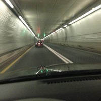 Photo taken at Fort McHenry Tunnel by JB J. on 1/4/2013