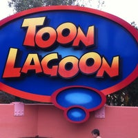 Photo taken at Toon Lagoon by Grady P. on 10/27/2012