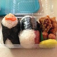 Photo taken at Musubi Cafe IYASUME by Nicole S. on 5/30/2013