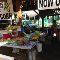 Photo taken at Kahuku Land Farms Fruit Stand by Nicole S. on 6/1/2013