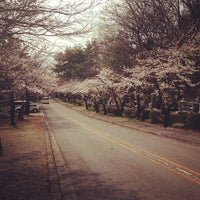 Photo taken at つつじが崎霊園 by hidenori i. on 3/23/2013