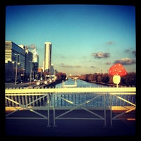 Photo taken at Pont de Puteaux by Romain'g P. on 12/11/2012