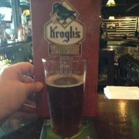 Photo taken at Krogh's Restaurant & Brew Pub by Geneo on 7/4/2013