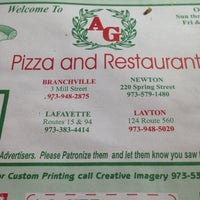 Photo taken at A G Pizza & Restaurant by Geneo on 6/25/2014