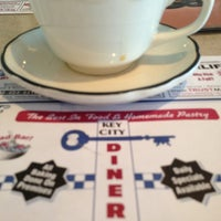 Photo taken at Key City Diner by Geneo on 1/20/2013