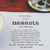 Photo taken at Namaste by Lilian D. on 8/21/2014