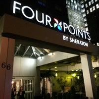 Photo taken at Four Points by Sheraton Manhattan SoHo Village by Jeremy H. on 9/9/2013