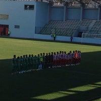 Photo taken at Maltepe Hasan Polat Stadı by Abdullah A. on 1/19/2014