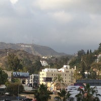 Photo taken at Hollywood Sign View by Elena👼 on 4/16/2013